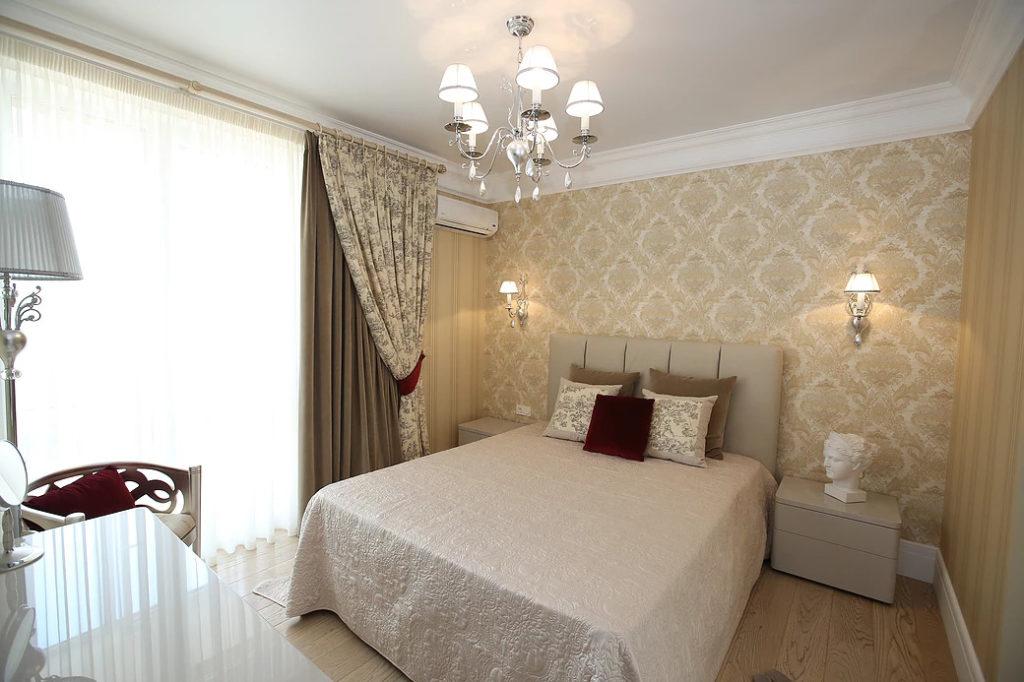 Дизайн проект квартиры в традиционном классическом стиле